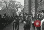 Image of May Day parade New York City USA, 1935, second 32 stock footage video 65675063187