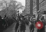 Image of May Day parade New York City USA, 1935, second 33 stock footage video 65675063187