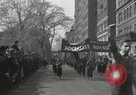 Image of May Day parade New York City USA, 1935, second 36 stock footage video 65675063187