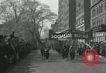 Image of May Day parade New York City USA, 1935, second 37 stock footage video 65675063187