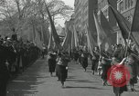 Image of May Day parade New York City USA, 1935, second 40 stock footage video 65675063187