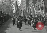 Image of May Day parade New York City USA, 1935, second 41 stock footage video 65675063187