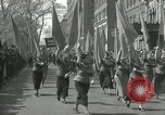 Image of May Day parade New York City USA, 1935, second 42 stock footage video 65675063187