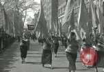 Image of May Day parade New York City USA, 1935, second 43 stock footage video 65675063187