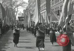 Image of May Day parade New York City USA, 1935, second 44 stock footage video 65675063187