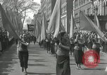 Image of May Day parade New York City USA, 1935, second 45 stock footage video 65675063187