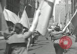 Image of May Day parade New York City USA, 1935, second 46 stock footage video 65675063187