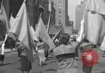 Image of May Day parade New York City USA, 1935, second 47 stock footage video 65675063187
