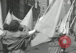 Image of May Day parade New York City USA, 1935, second 48 stock footage video 65675063187
