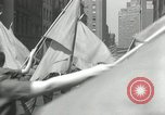 Image of May Day parade New York City USA, 1935, second 51 stock footage video 65675063187