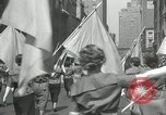 Image of May Day parade New York City USA, 1935, second 52 stock footage video 65675063187