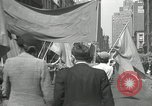 Image of May Day parade New York City USA, 1935, second 57 stock footage video 65675063187