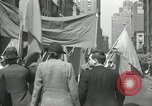 Image of May Day parade New York City USA, 1935, second 58 stock footage video 65675063187