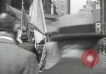 Image of May Day parade New York City USA, 1935, second 59 stock footage video 65675063187
