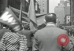 Image of May Day parade New York City USA, 1935, second 60 stock footage video 65675063187