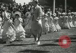 Image of Queen of the May San Francisco California USA, 1937, second 13 stock footage video 65675063189