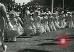 Image of Queen of the May San Francisco California USA, 1937, second 15 stock footage video 65675063189