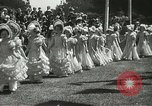 Image of Queen of the May San Francisco California USA, 1937, second 16 stock footage video 65675063189