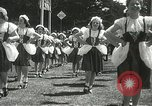 Image of Queen of the May San Francisco California USA, 1937, second 32 stock footage video 65675063189