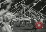 Image of Queen of the May San Francisco California USA, 1937, second 50 stock footage video 65675063189