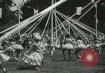 Image of Queen of the May San Francisco California USA, 1937, second 51 stock footage video 65675063189