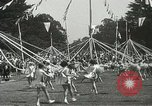 Image of Queen of the May San Francisco California USA, 1937, second 56 stock footage video 65675063189