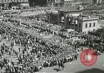 Image of May Day parade New York City USA, 1937, second 8 stock footage video 65675063190