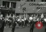 Image of May Day parade New York City USA, 1937, second 13 stock footage video 65675063190