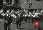 Image of May Day parade New York City USA, 1937, second 14 stock footage video 65675063190