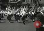 Image of May Day parade New York City USA, 1937, second 17 stock footage video 65675063190