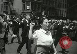 Image of May Day parade New York City USA, 1937, second 18 stock footage video 65675063190
