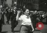 Image of May Day parade New York City USA, 1937, second 19 stock footage video 65675063190