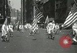 Image of May Day parade New York City USA, 1937, second 21 stock footage video 65675063190