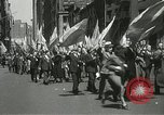 Image of May Day parade New York City USA, 1937, second 25 stock footage video 65675063190