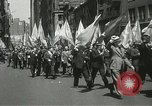 Image of May Day parade New York City USA, 1937, second 26 stock footage video 65675063190