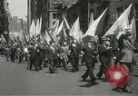 Image of May Day parade New York City USA, 1937, second 27 stock footage video 65675063190