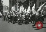 Image of May Day parade New York City USA, 1937, second 28 stock footage video 65675063190