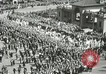 Image of May Day parade New York City USA, 1937, second 31 stock footage video 65675063190