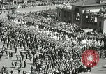 Image of May Day parade New York City USA, 1937, second 33 stock footage video 65675063190