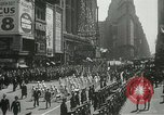 Image of Duffy Memorial unveiling ceremony New York City USA, 1937, second 12 stock footage video 65675063192