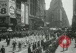 Image of Duffy Memorial unveiling ceremony New York City USA, 1937, second 13 stock footage video 65675063192