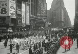 Image of Duffy Memorial unveiling ceremony New York City USA, 1937, second 14 stock footage video 65675063192