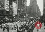 Image of Duffy Memorial unveiling ceremony New York City USA, 1937, second 15 stock footage video 65675063192