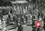 Image of Duffy Memorial unveiling ceremony New York City USA, 1937, second 16 stock footage video 65675063192