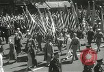 Image of Duffy Memorial unveiling ceremony New York City USA, 1937, second 17 stock footage video 65675063192