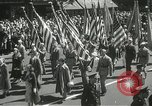 Image of Duffy Memorial unveiling ceremony New York City USA, 1937, second 18 stock footage video 65675063192