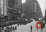 Image of Duffy Memorial unveiling ceremony New York City USA, 1937, second 20 stock footage video 65675063192