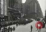 Image of Duffy Memorial unveiling ceremony New York City USA, 1937, second 22 stock footage video 65675063192