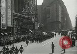 Image of Duffy Memorial unveiling ceremony New York City USA, 1937, second 23 stock footage video 65675063192