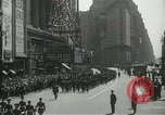 Image of Duffy Memorial unveiling ceremony New York City USA, 1937, second 24 stock footage video 65675063192